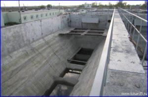 Городские очистные сооружения. г. Беслан, 2007 г.