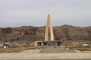 Мемориальный комплекс Белые журавли. Дагестан, 2013-2014 гг.