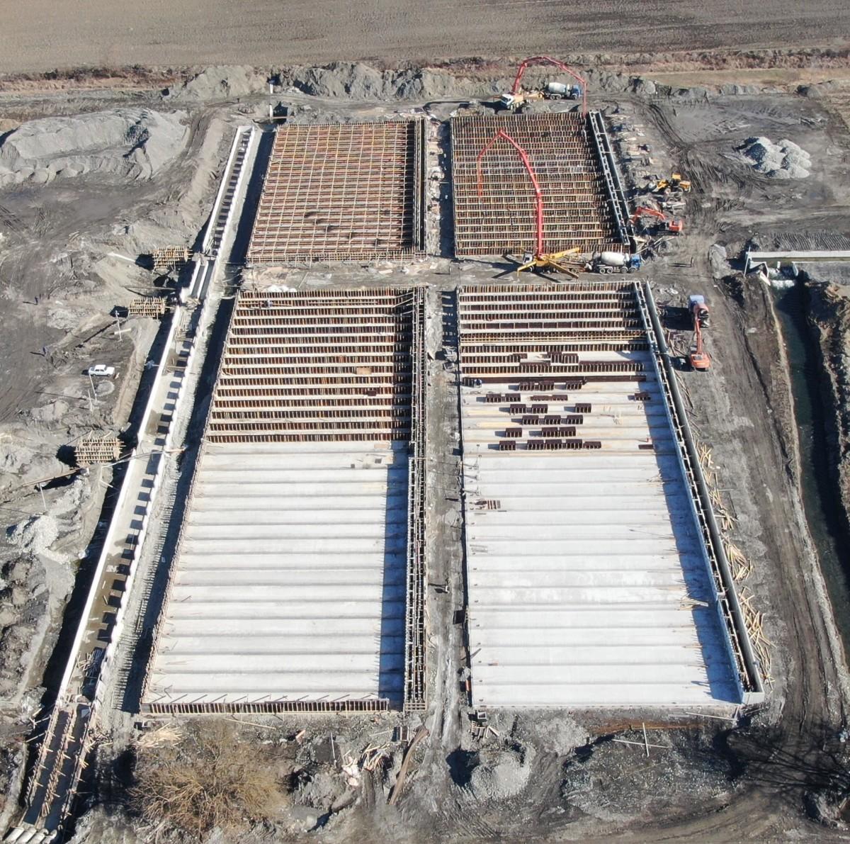 Cтроительство бассейнов для разведения форели